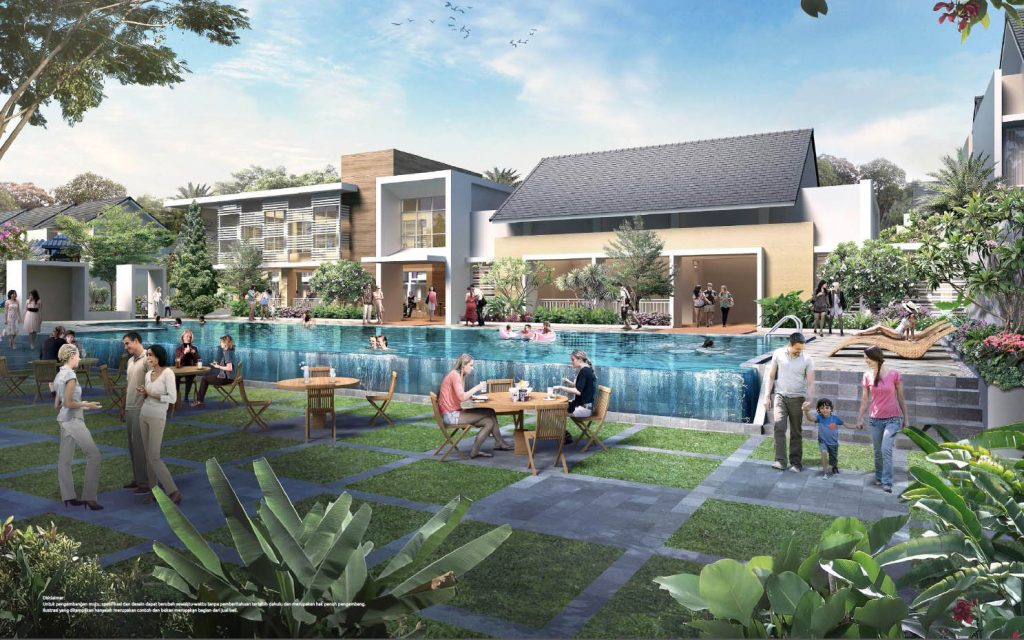 symphonia summarecon cluster verdi pool